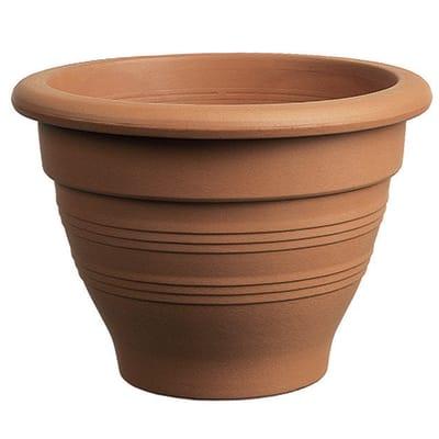 Vaso Minicampana CERMAX in terracotta colore cotto H 7.5 cm, Ø 11 cm