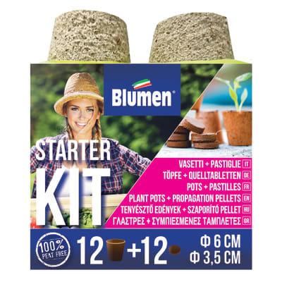 Supporto alla semina starterkit vasi cocco
