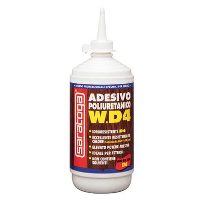 Colla per legno per tutti i tipi di legno WD4 adesivo poliuretanico 500 g 500 g