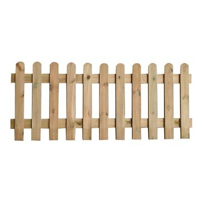 Recinzione dritta Eco in legno L 180 x H 70 x P 3 cm