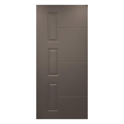 Pannello Per Porta Blindata Pellicolato Grigio L 91 X H