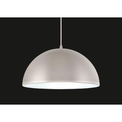 Lampadario Design Cedar argento in metallo, D. 38 cm, INSPIRE