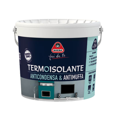 Pittura termoisolante Boero bianco 4 L