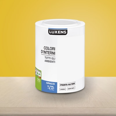 Pittura murale LUXENS 0.75 L giallo canarino 2