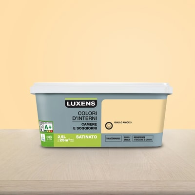 Pittura murale LUXENS 2.5 L giallo anice 3
