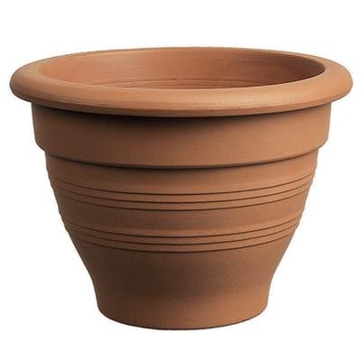 Vaso Campana in terracotta colore cotto H 35 cm, Ø 47 cm