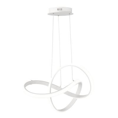 Lampadario Indigo bianco, in metallo, LED integrato 48W 4600LM IP20 WOFI