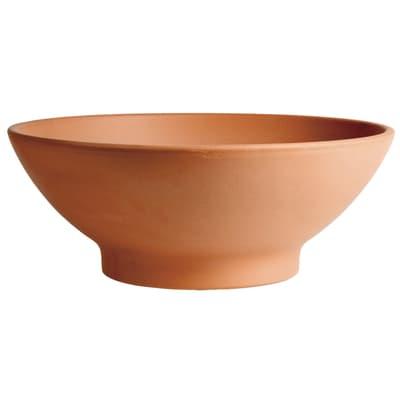 Ciotola Giardinetto in terracotta colore cotto H 20 cm, Ø 51 cm