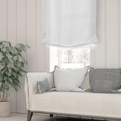 Tenda a pacchetto Eser bianco ottico 40x175 cm