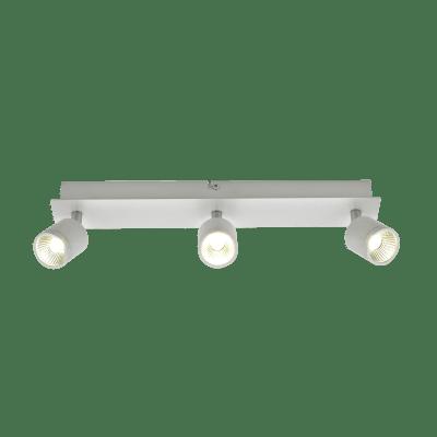 Faretto a muro Cody bianco, in ferro, LED integrato 15W IP44 INSPIRE