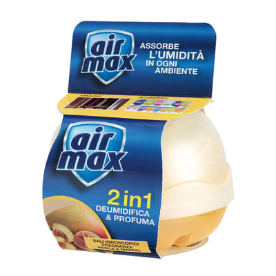 Kit assorbiumidità Airmax pesco e mango 55 g