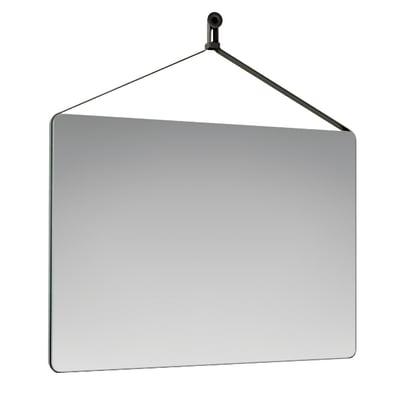 Specchio non luminoso bagno rettangolare Mango L 50 x H 70 cm