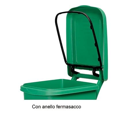 Bidone in plastica carrellato Urban Eco System 80 L