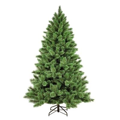 Albero di natale artificiale Gottardo verde H 180 cm