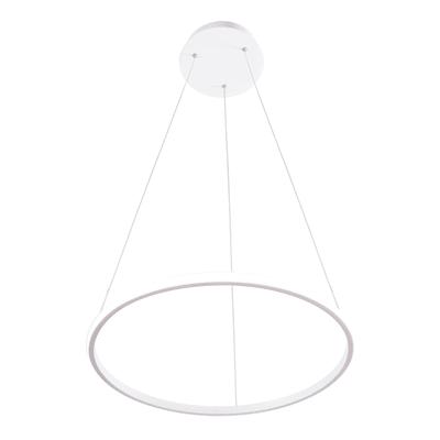 Lampadario Moderno Diamond LED integrato bianco, in alluminio, D. 50 cm