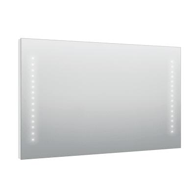 Specchio con illuminazione integrata bagno rettangolare Hollywood L 120 x H 70 cm SENSEA