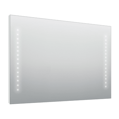 Specchio con illuminazione integrata bagno rettangolare Hollywood L 100 x H 70 cm SENSEA