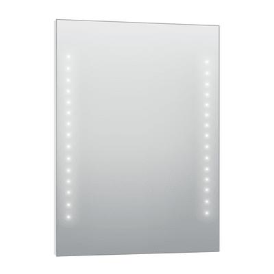 Specchio con illuminazione integrata bagno rettangolare Hollywood L 80 x H 60 cm SENSEA