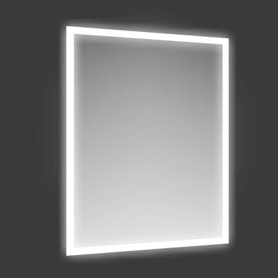 Specchio con illuminazione integrata bagno rettangolare Fog L 60 x H 80 cm
