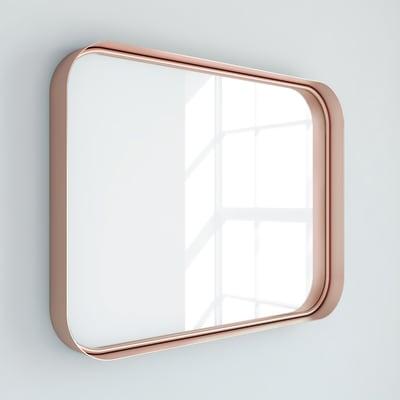 Specchio non luminoso bagno rettangolare Kende L 80 x H 60 cm RANDAL
