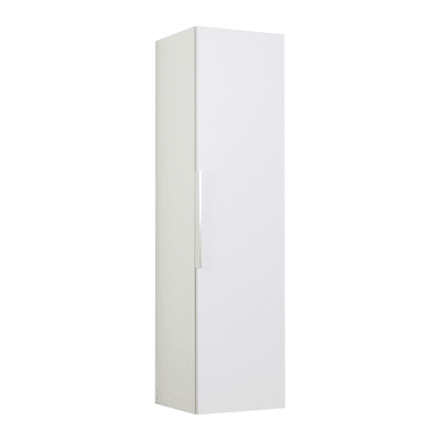 Colonna Essential 1 anta L 30 x P 31.7 x H 116 cm bianco lucido SENSEA