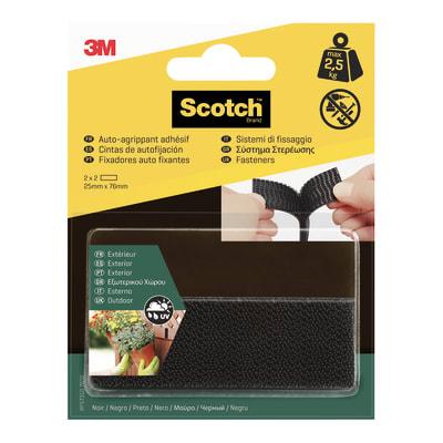 Sistema di fissaggio Adesivo Scotch® a cerniera 25 mm x 7.6 cm 4 pezzi