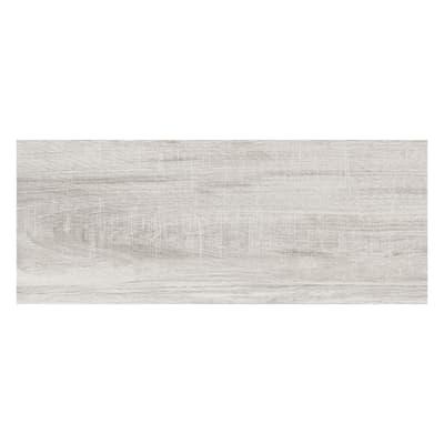 Piastrella per rivestimenti North Wind 20 x 50 cm sp. 0.8 mm grigio
