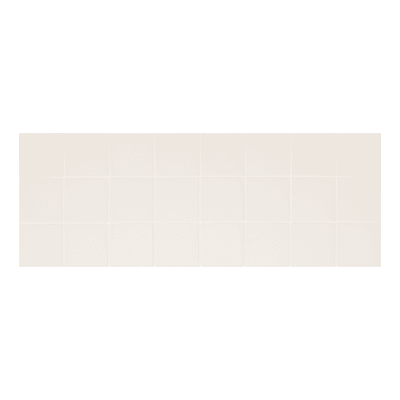 Piastrella per rivestimenti Shape 10 x 10 cm sp. 8 mm bianco