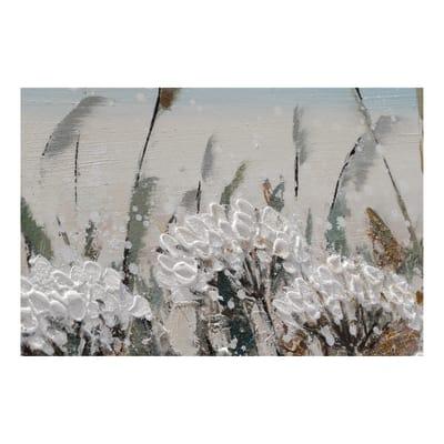 Dipinto originale Campo soffioni 65x150 cm