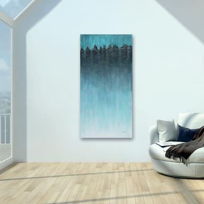 Quadro dipinto a mano Elite 70x140 cm