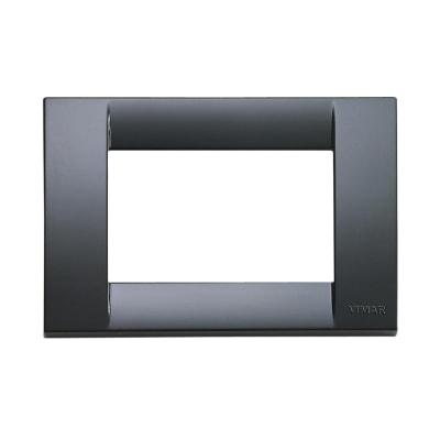 Placca VIMAR Idea 3 moduli grigio grafite
