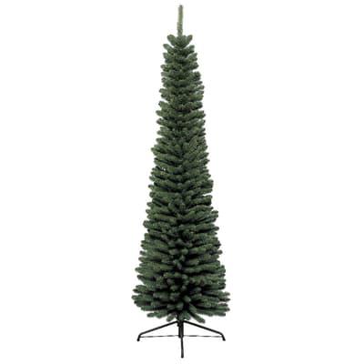 Albero di natale artificiale Slim verde H 150 cm