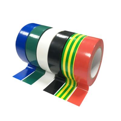 Nastro isolante set 6 pz 15 x 10000 mm multicolore