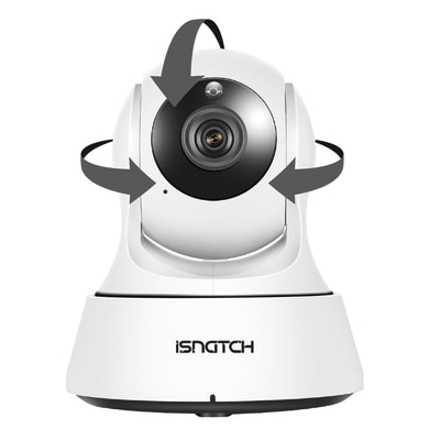 Telecamera ip ISNATCH wi-fi RJ45