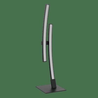 Lampada da tavolo Moderno Beryl Nero in alluminio, INSPIRE