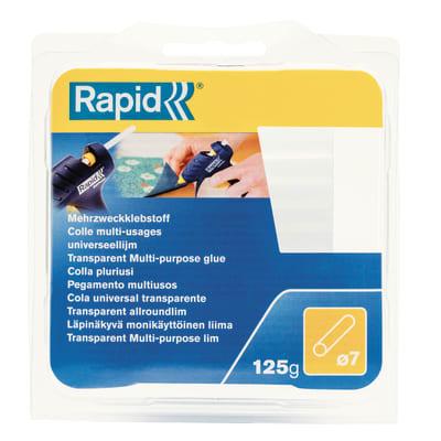 Stick di colla a caldo RAPID D7 trasparente Ø 7 mm 125 g