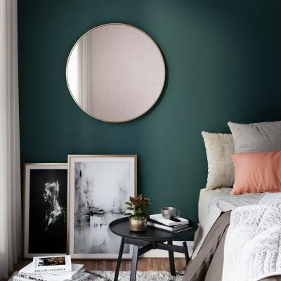 Specchio a parete tondo Glam dorato 60 cm INSPIRE