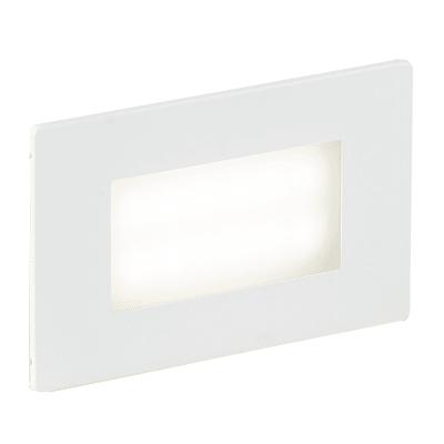 Faretto da incasso da esterno rettangolare BOLT-503 LED integrato 3W 200LM 1 x IP65