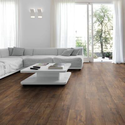 Pavimento laminato Chalet Cortina Sp 10 mm marrone