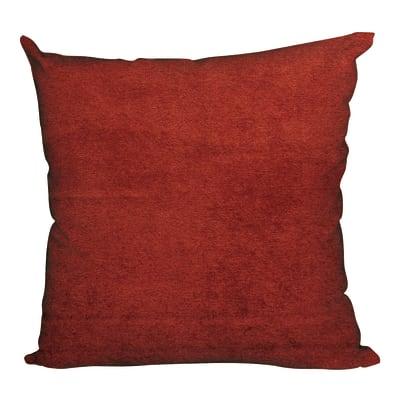 Cuscino Roma rosso rosso 50x50 cm