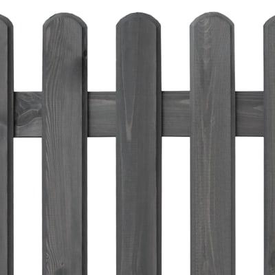 Recinzione dritta in legno L 180 x H 100 x P 4.2 cm