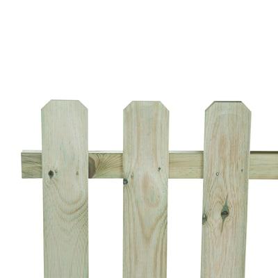 Recinzione dritta in legno L 180 x H 70 x P 4.6 cm