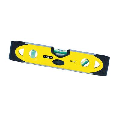 Livella manuale magnetica rettangolare STANLEY Torpedo 23 cm 3 fiale