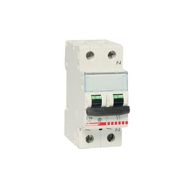 Interruttore magnetotermico BTICINO FC810NC16 1P +N 16A C 2 moduli 230V
