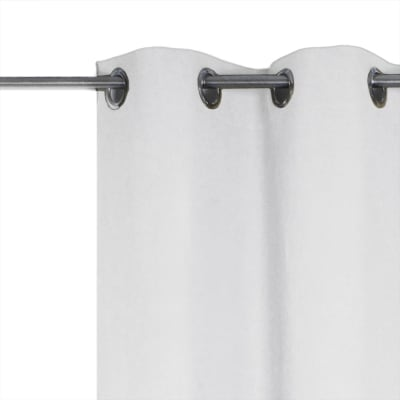 Tenda INSPIRE Jeanne bianco occhielli 135 x 280 cm