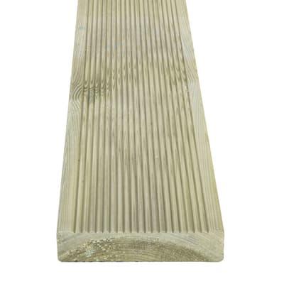 Listone in pino naturale e pino L 240 x H 12 cm, Sp 28 mm