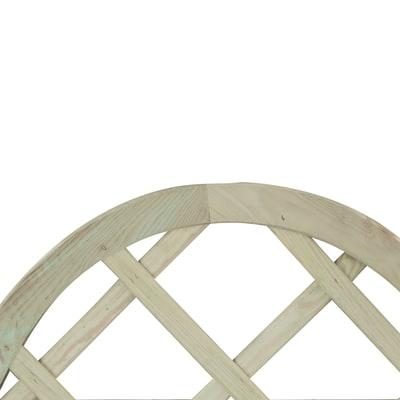 Pannello reticolato in legno Diago 60 x 120 cm