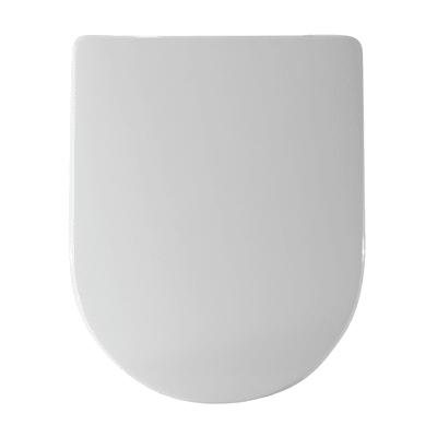 Copriwater rettangolare Dedicato per serie sanitari Compatibile Esedra termoindurente bianco