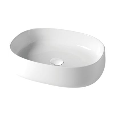 Lavabo Da Appoggio In Ceramica Bianco Prezzi E Offerte Online