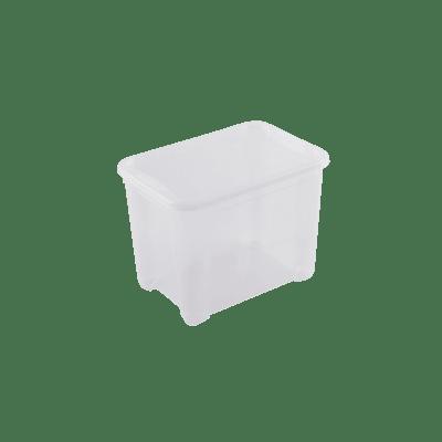 Scatola L 38 x H 28.5 x P 26.5 cm trasparente